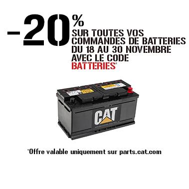 promo batteriesCaterpillar Bergerat Monnoyeur