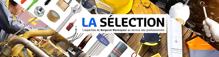 La sélection, l'expertise de Bergerat Monnoyeur au service des professionnels