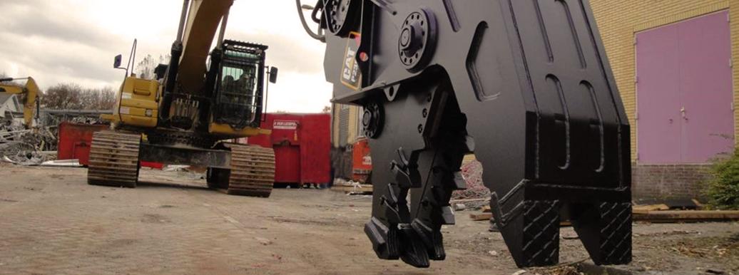 Broyeurs pour pelles de plus de 10 tonnes Caterpillar Bergerat Monnoyeur