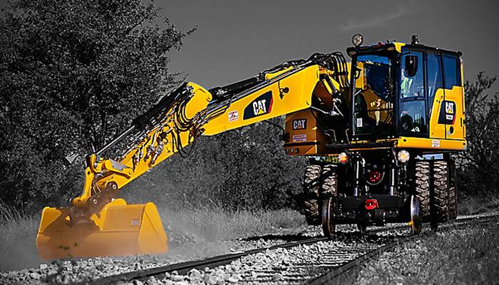 Ferroviaire travaux sur voies caténaires Bergerat Monnoyeur Environnement et industrie