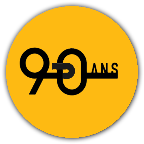 Icone logo 90 ans