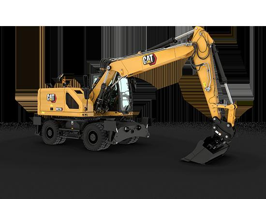 Pelle hydraulique sur pneus M316 NextGen Cat