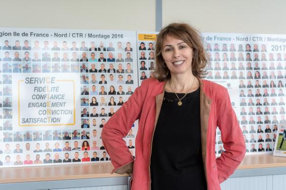 Mylène Marconi Directrice Ressource humaine Bergerat Monnoyeur