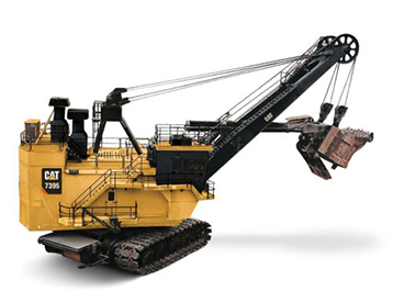 Electrische kabelshovels​ Bergerat Monnoyeur Caterpillar CAT