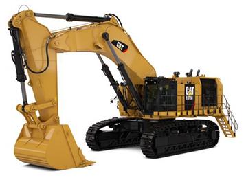 Hydraulische mijnbouwshovels Caterpillar Bergerat Monnoyeur CAT