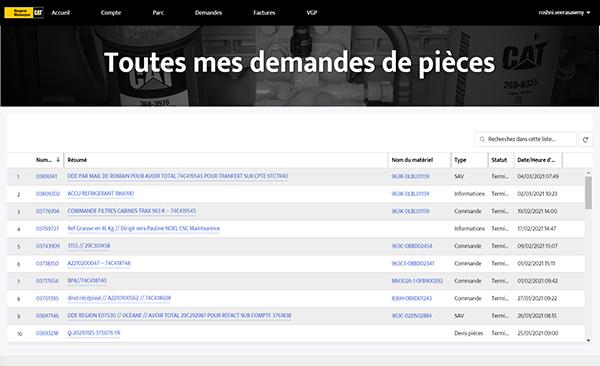 Page portail BM Pièces