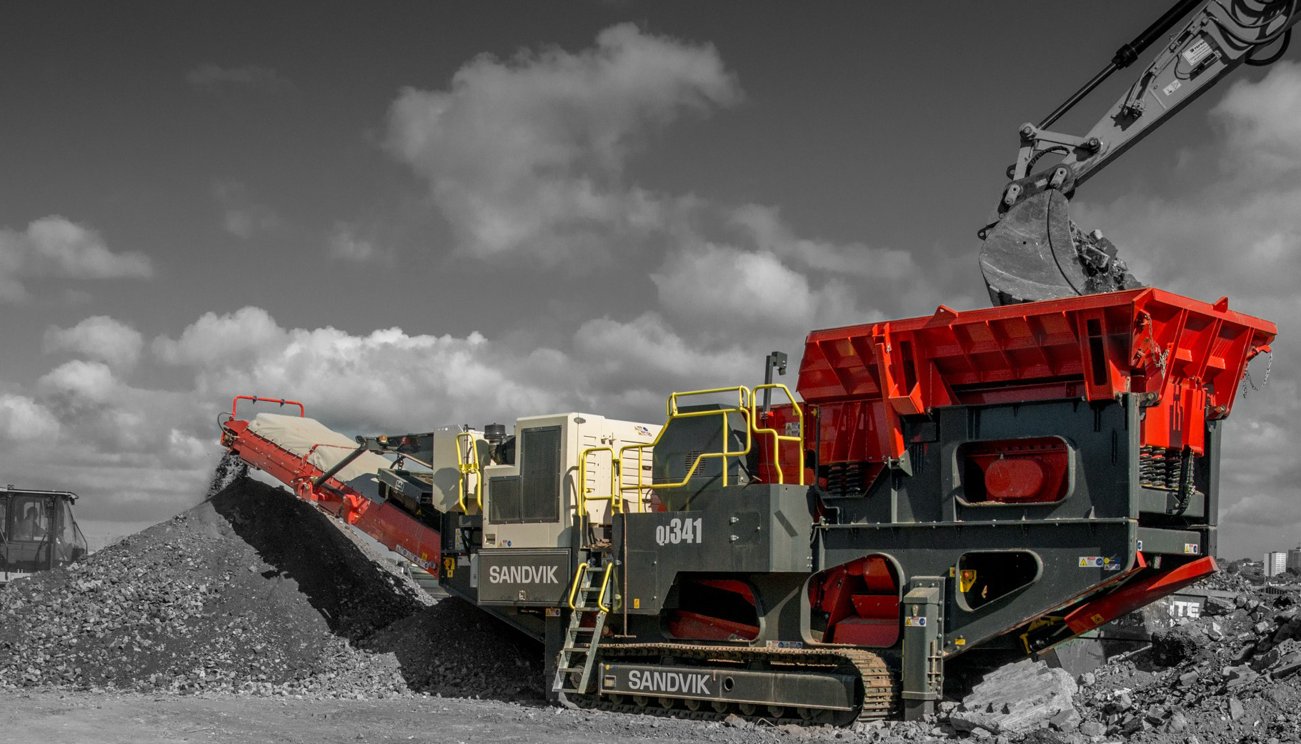 QJ341 Sandvik, Environnement et industrie