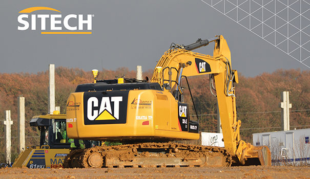 Connexion Sitech Machines Caterpillar CAT Bergerat Monnoyeur