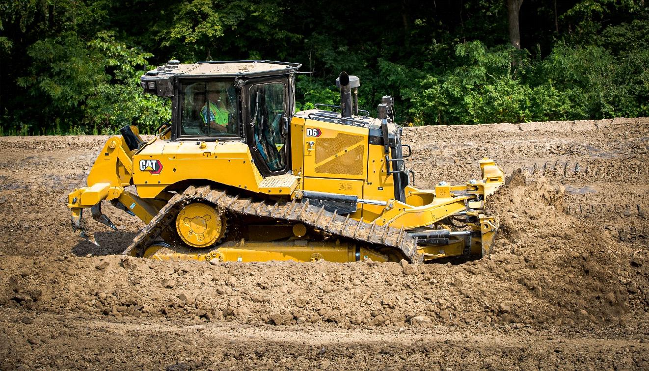 tracteurs sur chaines CAT