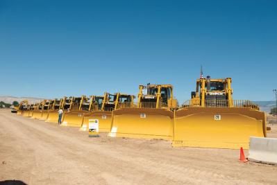 Tracteurs sur chaines caterpillar