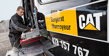 Assistance technique Bergerat Monnoyeur Caterpillar