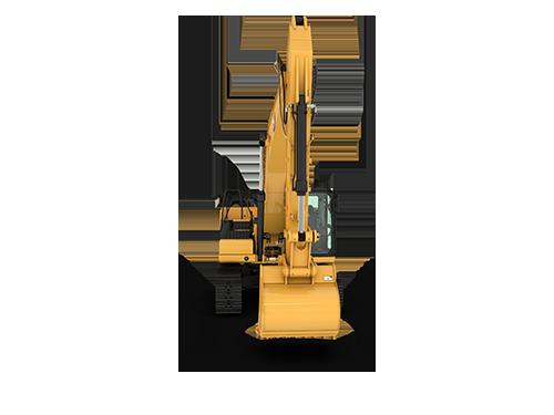 Pelles hydrauliques intermédiaire sur chaines CAT 330 GC