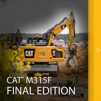 CAT M315F final edition
