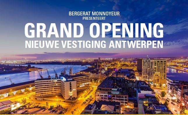 Grand opening nieuwe vestiging Antwerpen