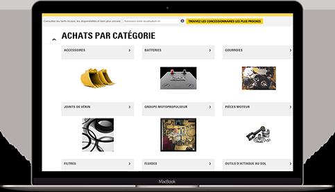 Centre pièce de rechange livraison express Bergerat Monnoyeur PartStore Parts.Cat.Com